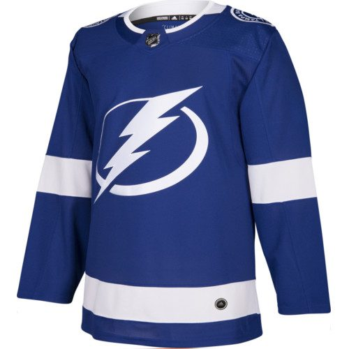 Tampa Bay Lightning Adidas Authentic Home NHL Jersey