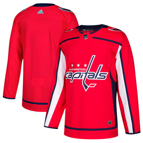 Washington Capitals Adidas Authentic Hockey Jersey Any Name and Number