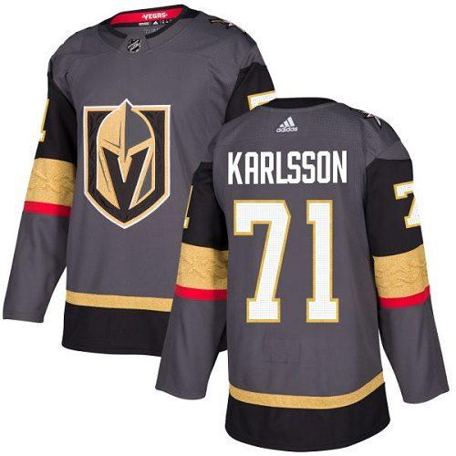 William Karlsson Vegas Golden Knights Adidas Authentic Home NHL Hockey Jersey