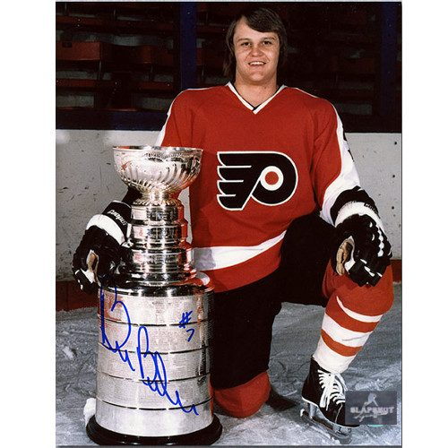 Bill Barber Autographed Philadelphia Flyers Stanley Cup 8x10 Photo