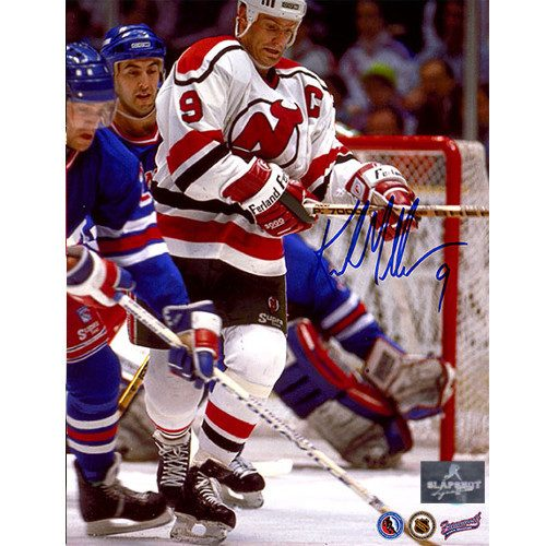 Kirk Muller New Jersey Devils Autographed Action 8x10 Photo