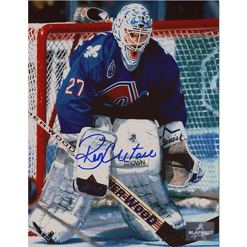 Ron Hextall Quebec Nordiques Autographed Goalie 8x10 Photo