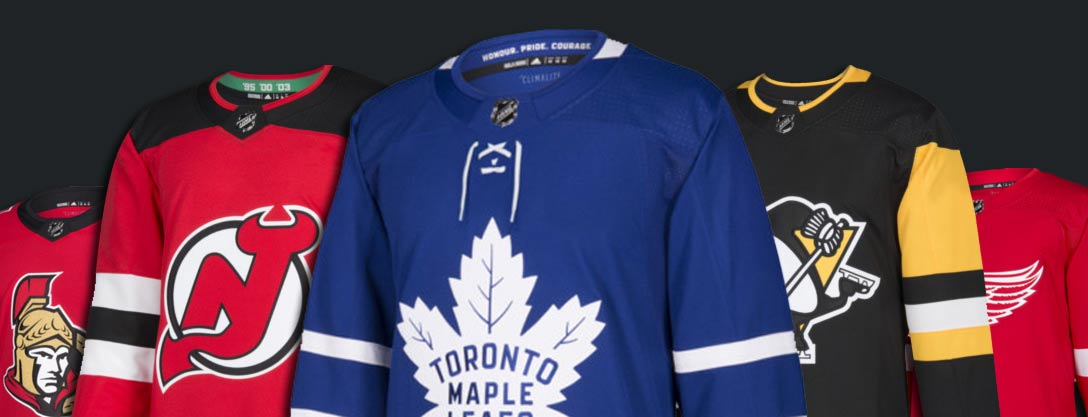 Custom Hockey Jerseys from Adidas