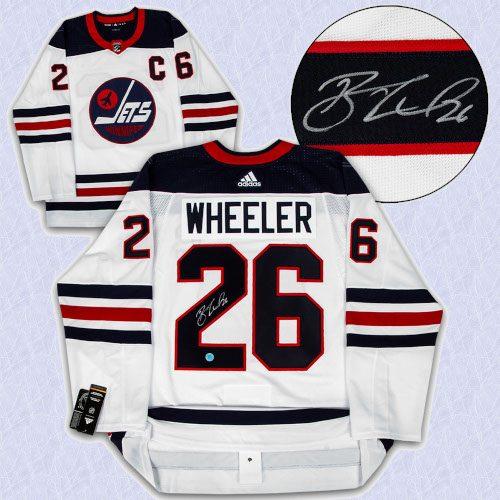 Blake Wheeler Winnipeg Jets Autographed Heritage Adidas Authentic Hockey Jersey