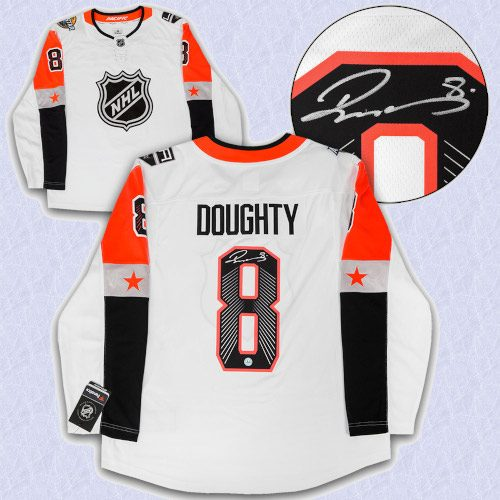 Drew Doughty 2018 All Star Game Autographed Fanatics Hockey Jersey