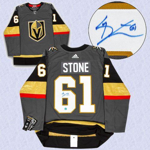 Mark Stone Vegas Golden Knights Autographed Adidas Authentic Hockey Jersey