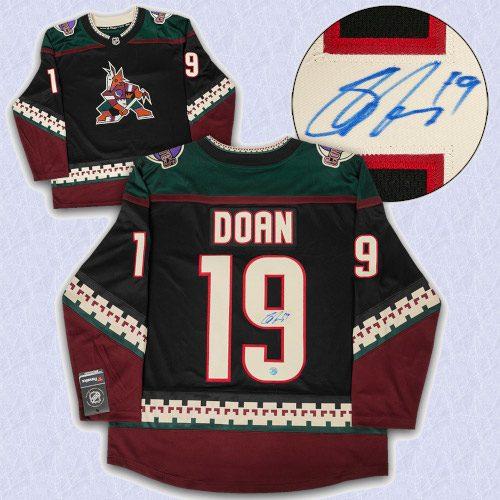 Shane Doan Arizona Coyotes Signed Retro Alternate Fanatics Hockey Jersey