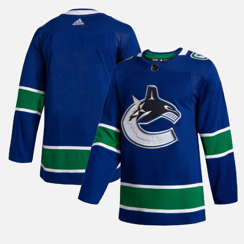Vancouver Canucks Adidas Authentic Hockey Jersey Any Name and Number