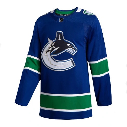 Vancouver Canucks Adidas Authentic Home NHL Jersey