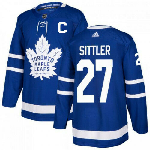 Darryl Sittler Toronto Maple Leafs Adidas Authentic Home NHL Jersey
