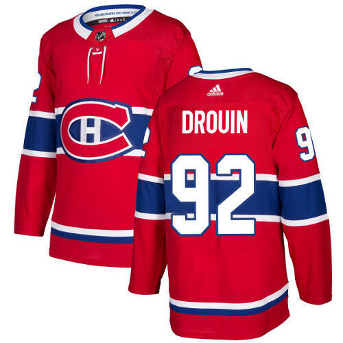 Jonathan Drouin Montreal Canadiens Adidas Authentic Home NHL Jersey