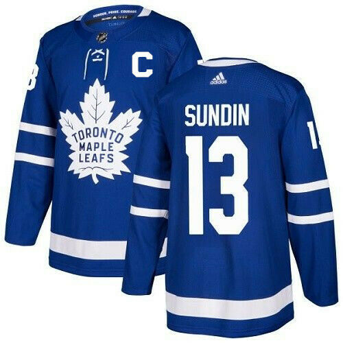 Mats Sundin Toronto Maple Leafs Adidas Authentic Home NHL Jersey