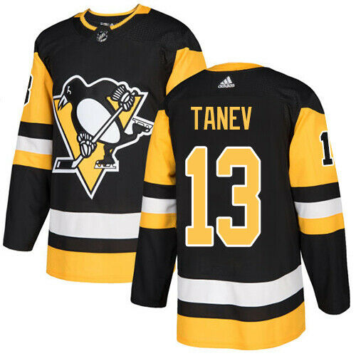 Brandon Tanev Pittsburgh Penguins Adidas Authentic Home NHL Hockey Jersey