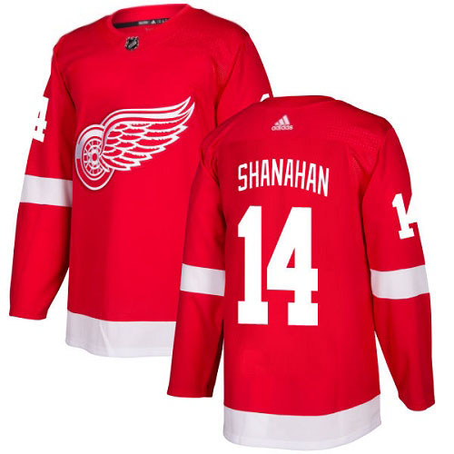 Brendan Shanahan Detroit Red Wings Adidas Authentic Home NHL Hockey Jersey