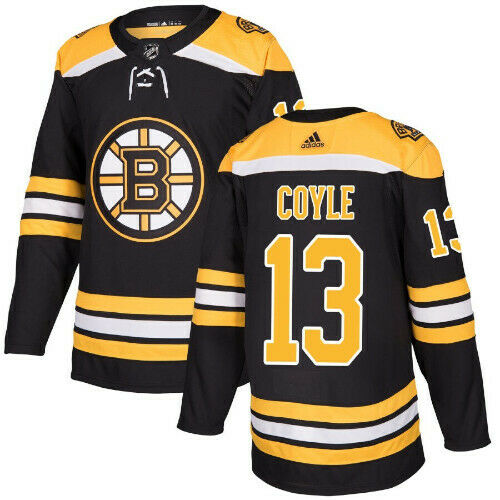 Charlie Coyle Boston Bruins Adidas Authentic Home NHL Jersey