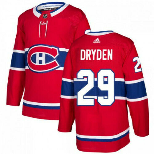 Ken Dryden Montreal Canadiens Adidas Authentic Home NHL Jersey