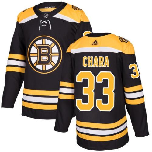 Zdeno Chara Boston Bruins Adidas Authentic Home NHL Jersey