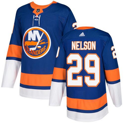 Brock Nelson New York Islanders Adidas Authentic Home NHL Hockey Jersey