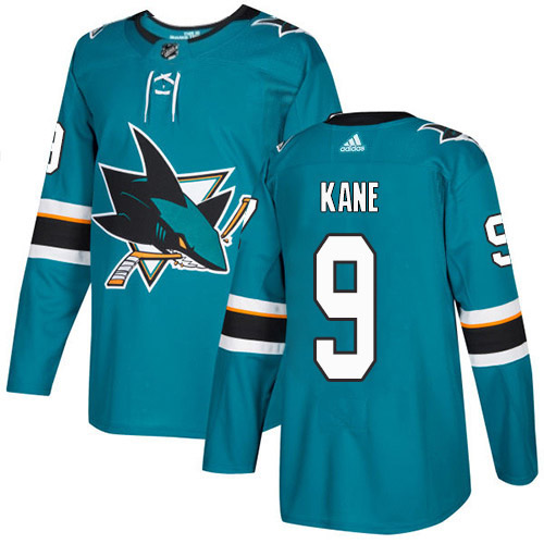 Evander Kane San Jose Sharks Adidas Authentic Home NHL Hockey Jersey