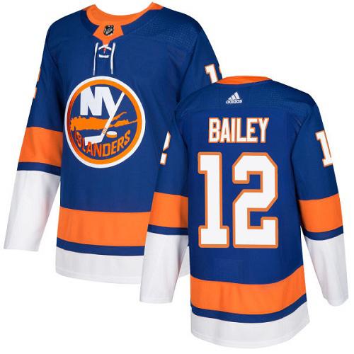 Josh Bailey New York Islanders Adidas Authentic Home NHL Hockey Jersey