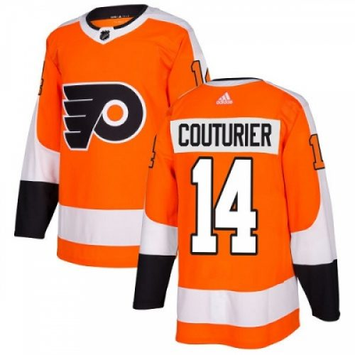 Sean Couturier Philadelphia Flyers Adidas Authentic Home NHL Hockey Jersey