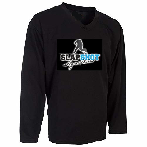 Slap Shot Signatures Adidas Authentic Home NHL Custom Mystery Jersey