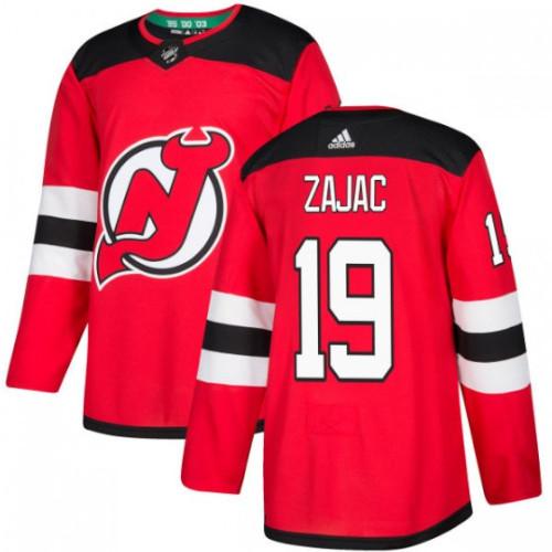 Travis Zajac New Jersey Devils Adidas Authentic Home NHL Hockey Jersey
