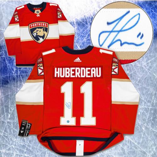 Jonathan Huberdeau Florida Panthers Signed Adidas Authentic Hockey Jersey