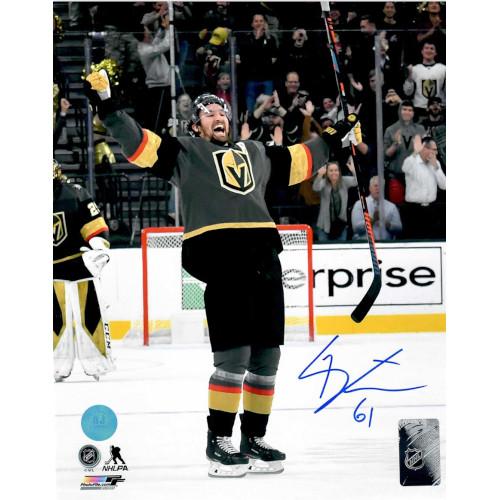 Mark Stone Vegas Golden Knights Autographed 8X10 Photo