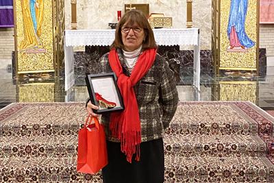 2020 Red Shoe Award Recipient Pat Dorr
