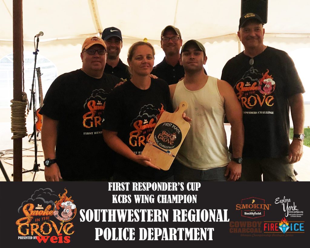 First Responder's Cup - 1st KCBS Category