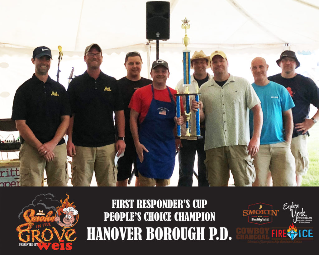 First Responder's Cup - 1st People's Choice Category