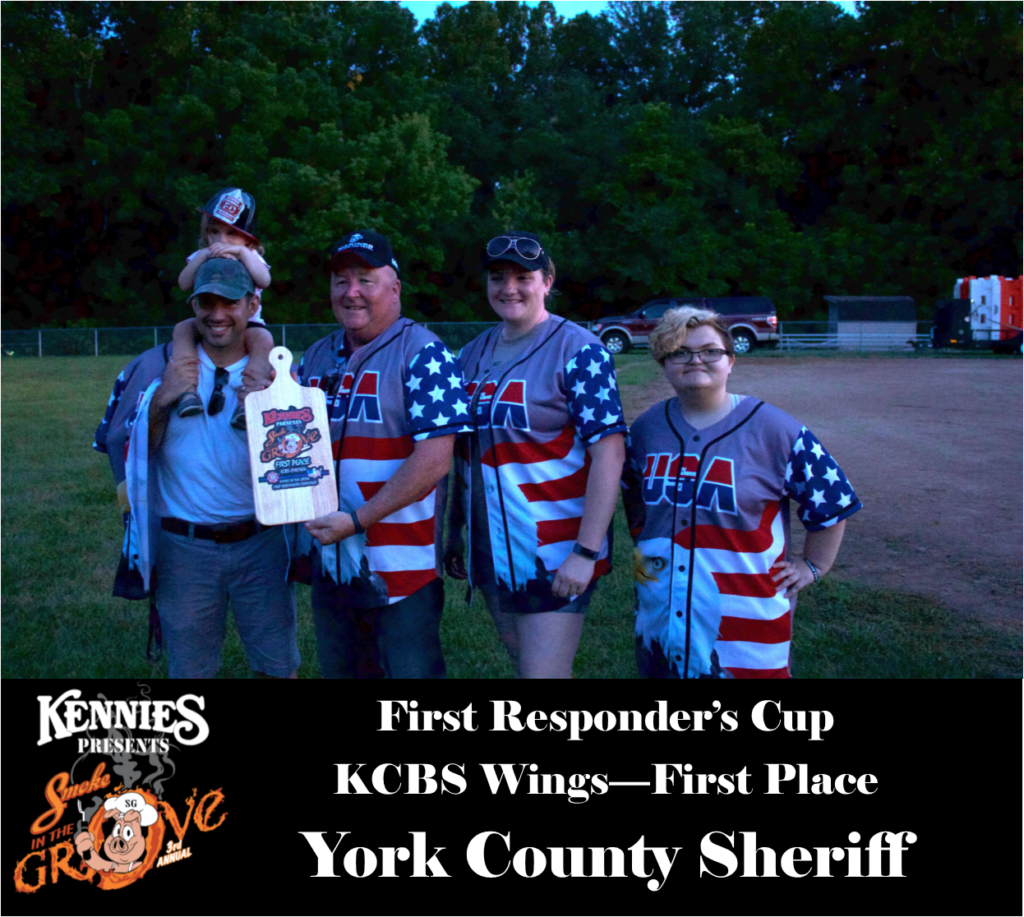 First Responder - KCBS Wing - First Place