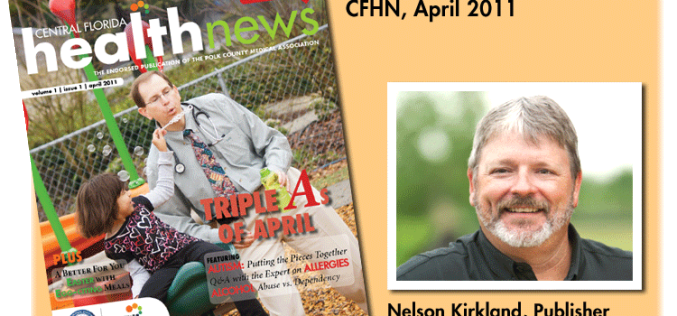 Publisher's Closing Thoughts: Happy anniversary, Central Florida Health News!