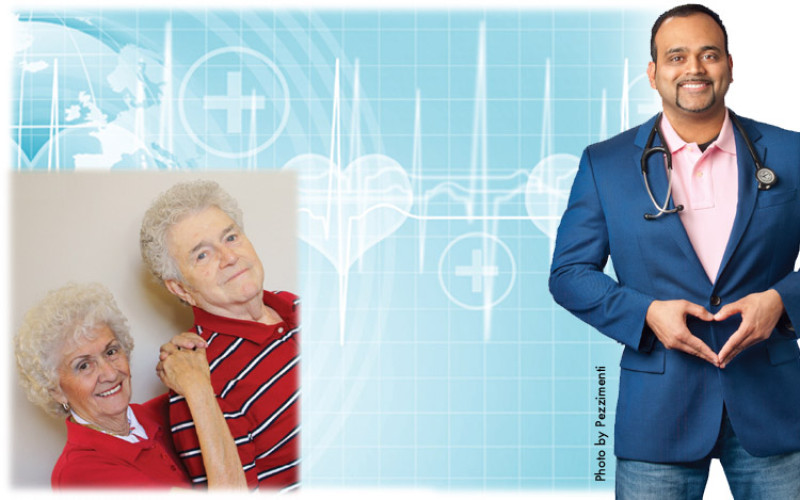 How Joan and Robert are conquering cardiac distress