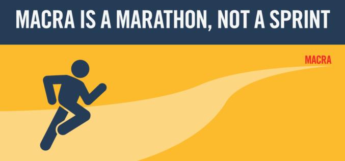 MACRA is a Marathon, Not a Sprint