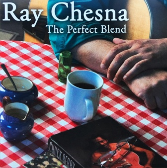 "Ray Chesna's ""The Perfect Blend"" Album Cover"