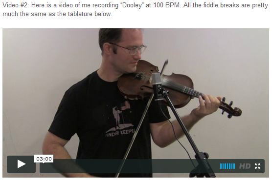 "This is an online fiddle lesson for the tune ""Dooley."" BluegrassDaddy.com is your best source for Bluegrass, Old-Time, Celtic, Gospel, and Country fiddle lessons!"
