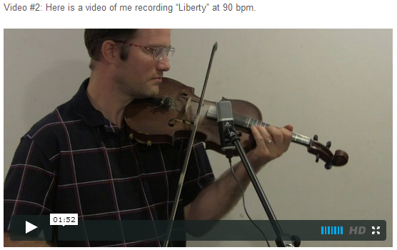 "This is an online fiddle lesson for the tune ""Liberty."" BluegrassDaddy.com is your best source for Bluegrass, Old-Time, Celtic, Gospel, and Country fiddle lessons!"