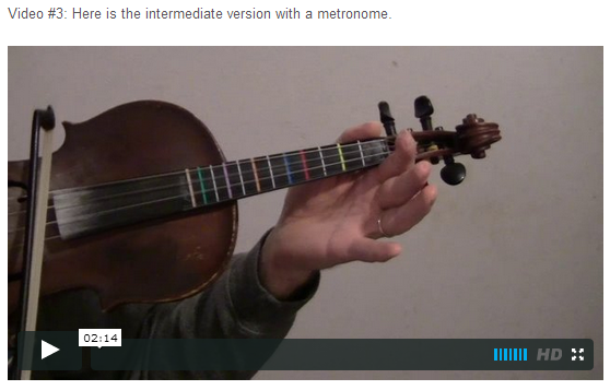 """This is an online fiddle lesson for the tune """"Jingle Bells."""" BluegrassDaddy.com is your best source for Bluegrass, Old-Time, Celtic, Gospel, and Country fiddle lessons!"""