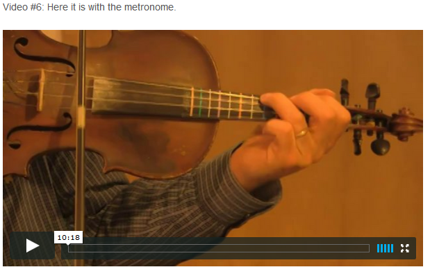 "This is an online fiddle lesson for the tune ""Jerusalem Ridge."" BluegrassDaddy.com is your best source for Bluegrass, Old-Time, Celtic, Gospel, and Country fiddle lessons!"