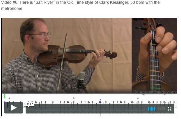 Salt Creek - Online Fiddle Lessons. Celtic, Bluegrass, Old-Time, Gospel, and Country Fiddle.