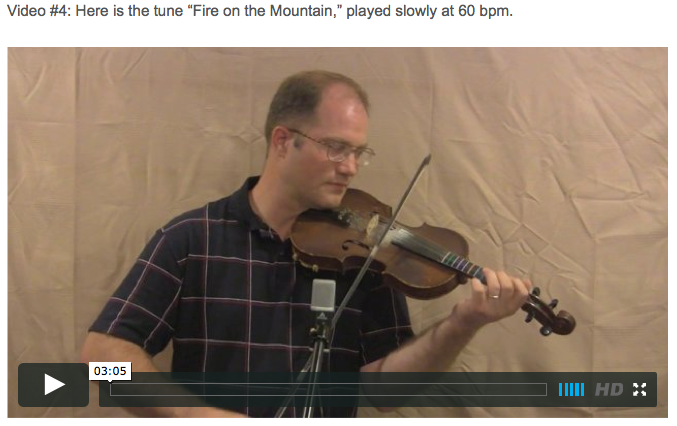 Fire on the Mountain - Online Fiddle Lessons. Celtic, Bluegrass, Old-Time, Gospel, and Country Fiddle.