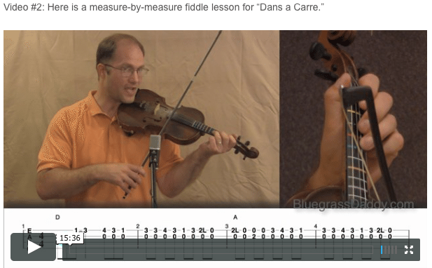 Dans a Carre- Online Fiddle Lessons. Celtic, Bluegrass, Old-Time, Gospel, and Country Fiddle.