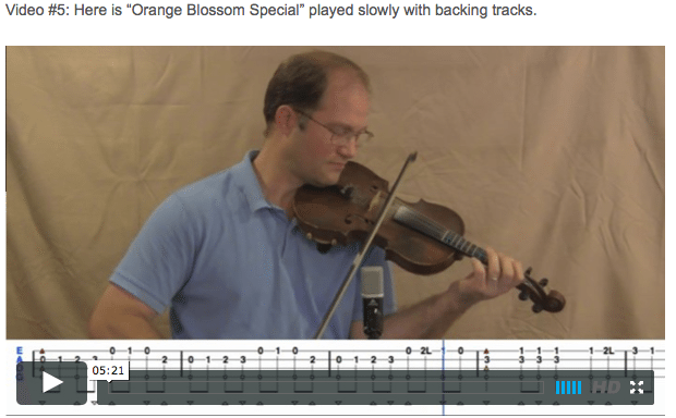 Orange Blossom Special- Online Fiddle Lessons. Celtic, Bluegrass, Old-Time, Gospel, and Country Fiddle.