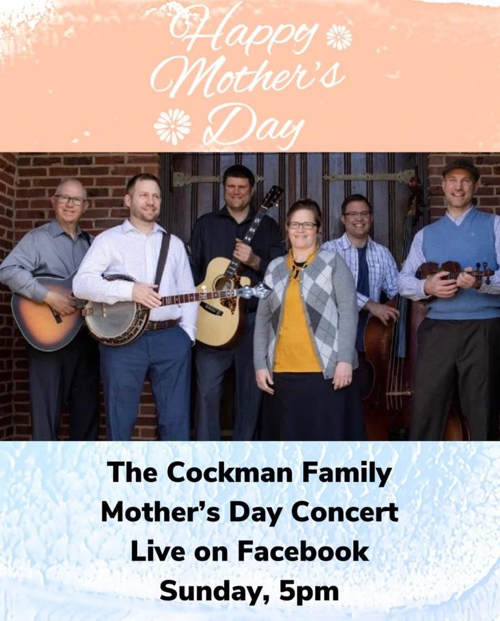 the cockman family mother's day concert