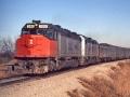 Amtrak_SDP40F_0500_Train_15_02-10-74_Pauls_Valley_OK