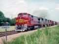ATSF_0500_West_HALBA_Train_Fort_Worth_TX_07-04-93