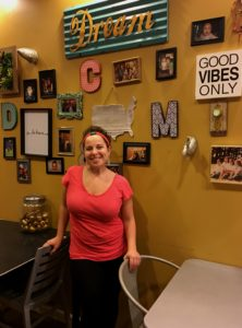 Cassie Wilusz Revolution Cafe