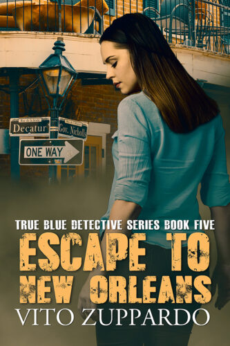 Escape to New Orleans mystery detective novel